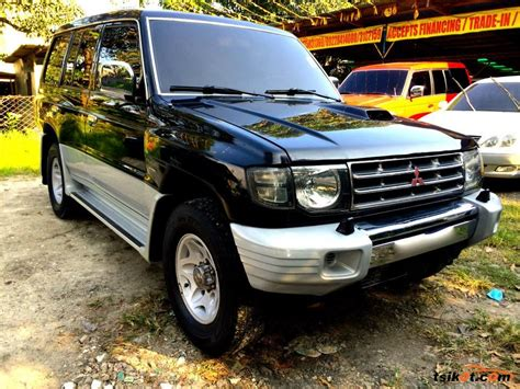 how does cars work 2004 mitsubishi pajero security system mitsubishi pajero 2004 car for sale central visayas