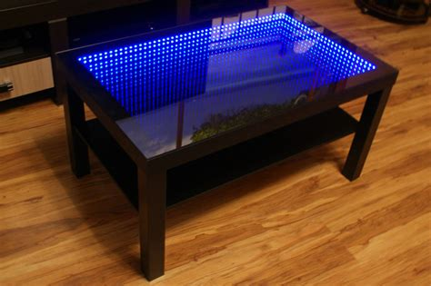 infinity table for sale black table led 3d coffee table illuminated infinity