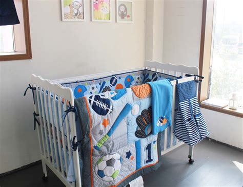 Sports Crib Bedding Sets Lookup Beforebuying Sport Crib Bedding Set