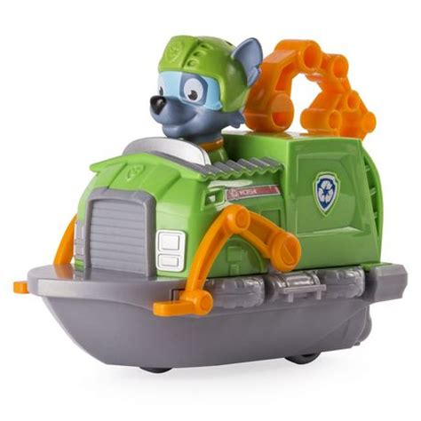 paw patrol rescue racers rocky 226 s boat toy vehicle - Walmart Paw Patrol Boat