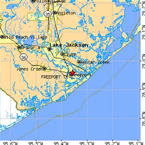 freeport texas map freeport texas tx population data races housing economy