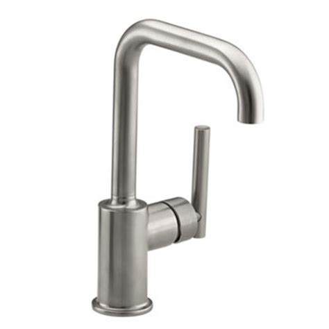 kohler single hole kitchen faucet kohler k 7509 vs purist single hole kitchen sink faucet