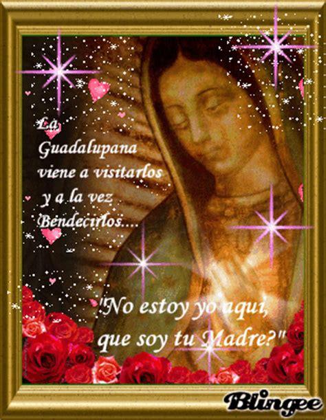 imagenes con frases bonitas de la virgen de guadalupe la virgen de guadalupe picture 70404647 blingee com