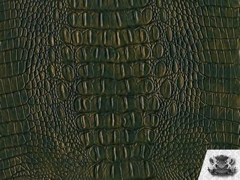crocodile upholstery fabric crocodile vinyl green gold crock fabric upholstery bty ebay
