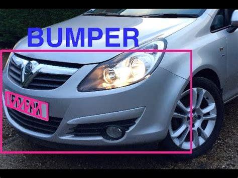 Bumper D how to remove vauxhall corsa d front bumper
