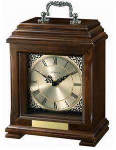 Bulova Mantel Clock Document Mantel Clock By Bulova Engravable Clocks