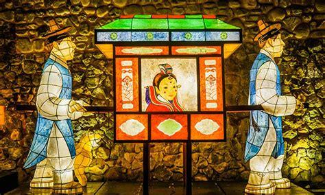 Korean Paper Crafts - exclusive lighting festivals near seoul stripes korea