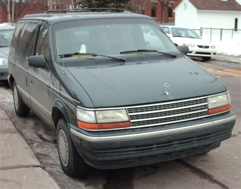 how cars run 1995 plymouth grand voyager regenerative braking image gallery plymouth voyager