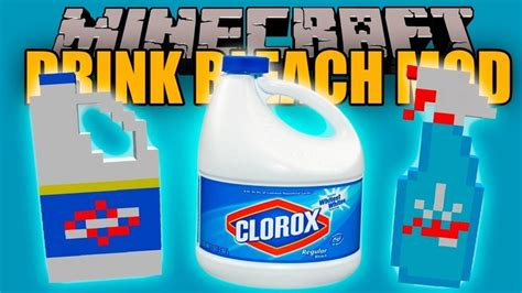 Drink Bleach Meme - drink bleach mod 1 12 2 1 11 2 for minecraft mc mod net
