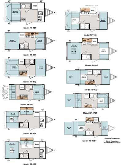 r pod cer floor plans 2011 forest river r pod ultra lite travel trailer rv html
