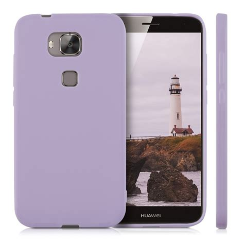 kwmobile tpu silicone cover mat for huawei g8 gx8 soft
