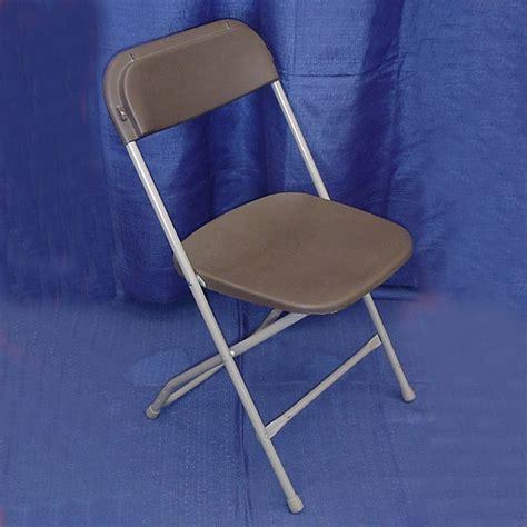 brown folding chair rental chair brown plastic folding grand rental station