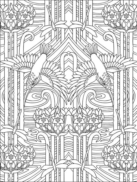 free coloring pages of art deco ladies