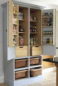 Kitchen Armoire Cabinets by Pantry Cabinet Ideas