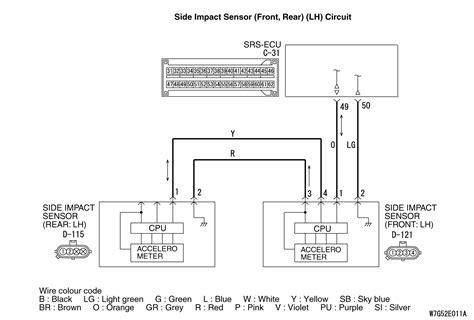 Code No U0173 Left Side Impact Sensor Rear