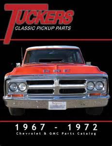 Chevrolet Gmc Truck Parts Accessories Catalog Pin Chevy Truck Parts Gmc Catalogs 1967 1972 Catalog On
