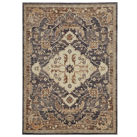area rugs 6 home decorators collection livia blue beige 7 ft 6 in x 10 ft area rug 571993 the home depot