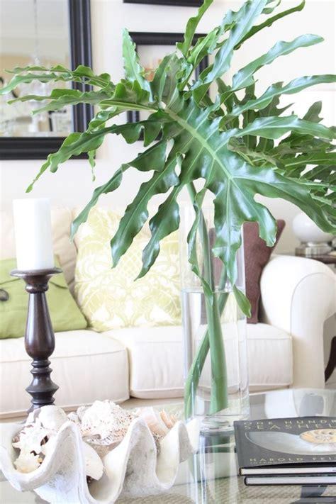 palm leaf  clear vase home love pinterest vase palms  clear vases