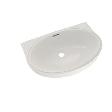 toto undermount lavatory sinks toto 22 in oval undermount bathroom with cefiontect