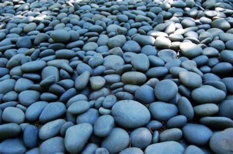 blue blue rocks garden