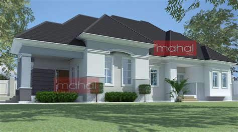 architectural design bungalow house 4 bedroom bungalow plan in nigeria 4 bedroom bungalow house plans nigerian design