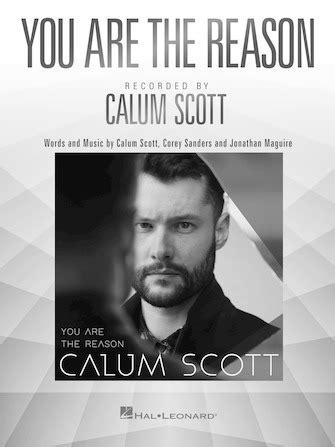 calum scott you are the reason tutorial sheets youtube you are the reason sheet music direct