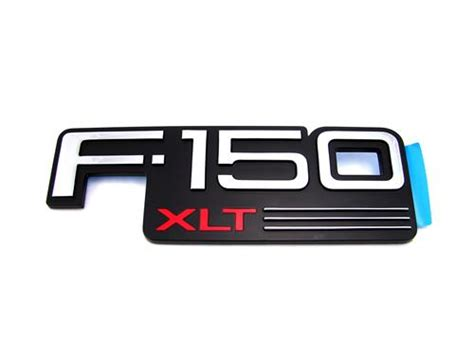 Ford F150 Emblems by F 150 Svt Lightning F150 Xlt Fender Emblem 93 95