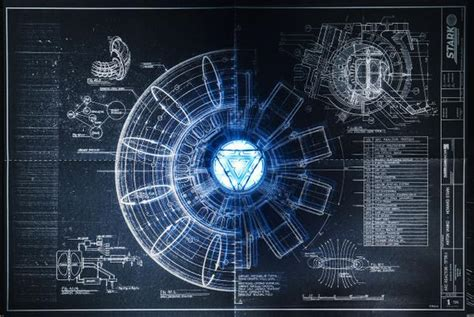 iron blueprints arc reactor www pixshark