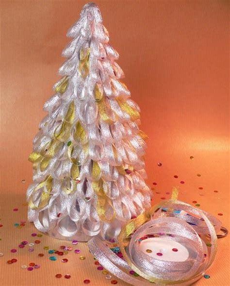 decoracion de arbol de navidad con cintas decoraci 243 n de navidad 193 rbol de navidad con cintas de raso y organza paperblog