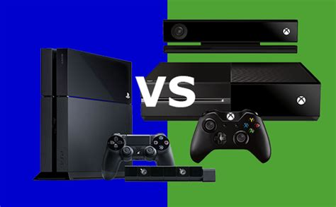 playstation 4 vs the xbox one how do they compare