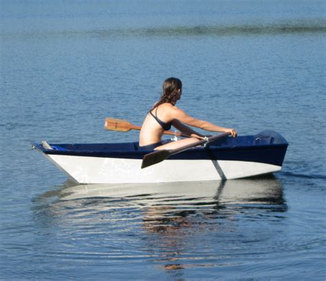 small boat you row custom built wooden boats by red river wooden boats