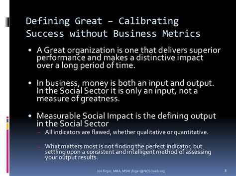 Mba Vs Msw by A Business Paradigm For Social Impact