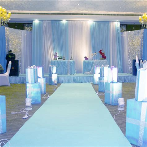 Wedding Aisle Carpet by White Carpet 10x1m Wedding Aisle Floor Runner