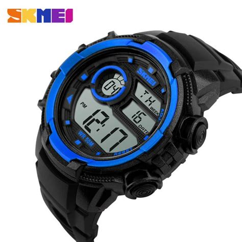 Jam Tangan Pilot Digital Water Resistant skmei jam tangan digital pria dg1113 black blue jakartanotebook