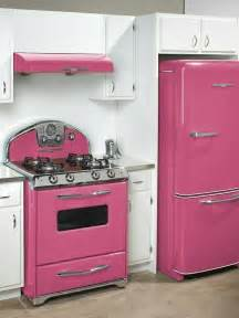 Retro Kitchen Appliances by Glossy Pink Retro Panda S House