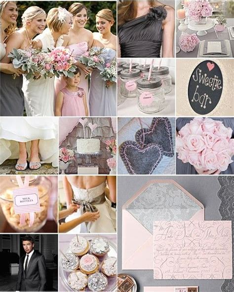 grey pink wedding theme 17 best ideas about charcoal grey weddings on