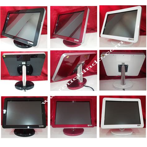 Monitor Touchscreen 22 Inch Rosegold Touchindo monitor touchscreen monitor touchscreen touchindo
