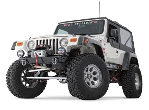 rock crawler bumpers jeep warn 87700 warn rock crawler stubby front bumper for 97