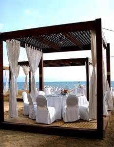 Curtains For Pergola Wood Pergola With Curtains 50 Ideas For Privacy In The Garden Decor10