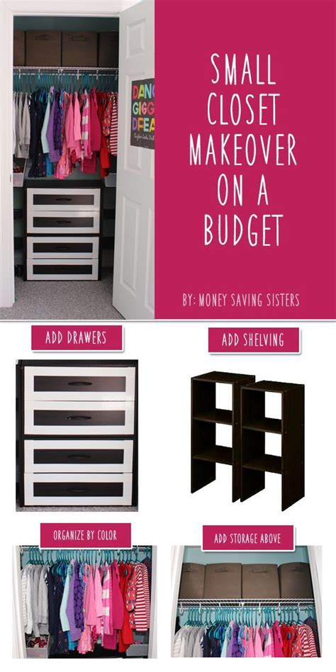 Closet Makeover Ideas by Small Closet Makeover On A Budget Pictures Photos And
