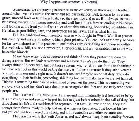 Why Penn Essay by Vfw Post 503 2014 2015 Winning Patriot S Pen Essay