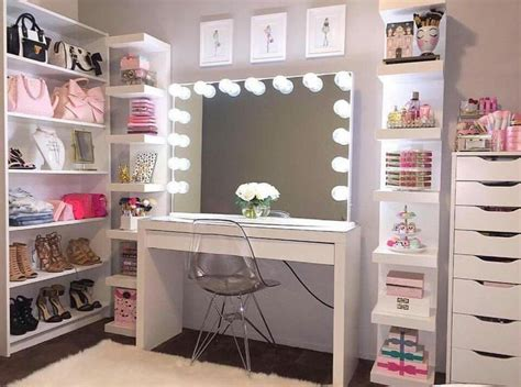 Vanity Dressing Table Ikea Best 25 Makeup Rooms Ideas On Pinterest Vanity Area