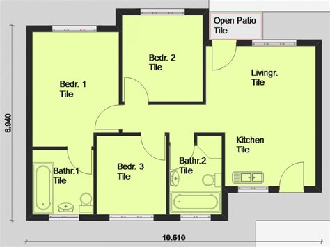 free houseplans free printable house blueprints free house plans south