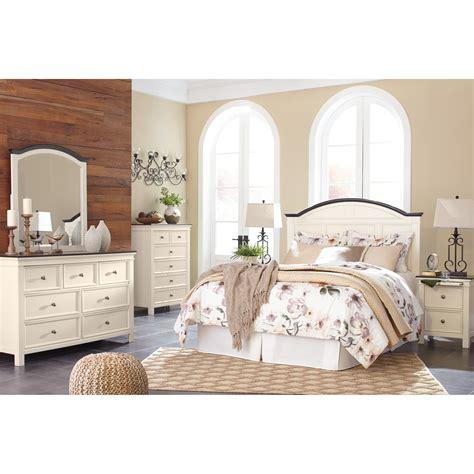 ashley signature design woodanville queen bedroom group dunk bright furniture bedroom groups