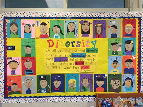 diversity themed events diversity bulletin board with quote from maya angelou