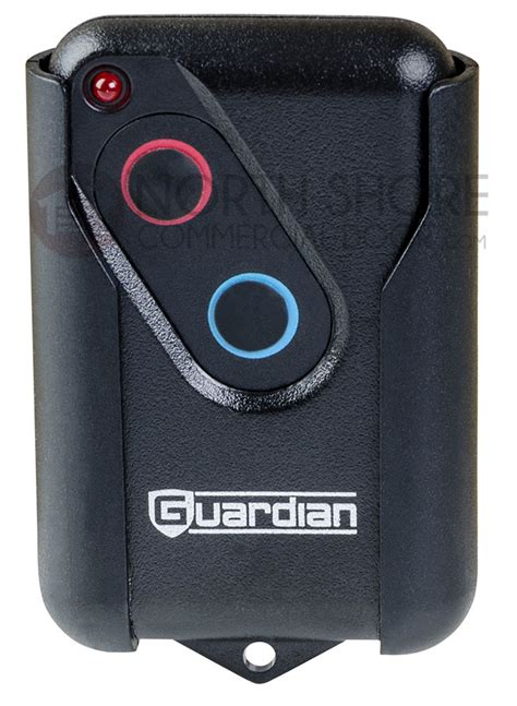 guardian gdor2b residential two button remote