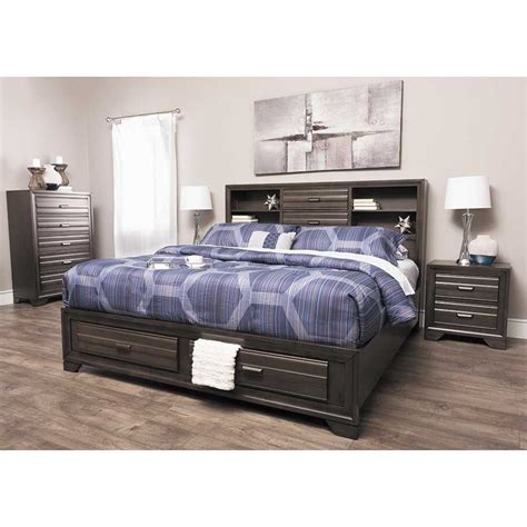 lifestyle bedroom furniture manufacturer antique grey 5 piece bedroom set 5236 5pcset 5236 qbed