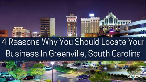 International Mba Of South Carolina by Four Reasons Why You Should Locate Your Business In