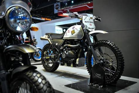 Modified Enduro Bikes by Modified Royal Enfield Himalayan Enduro Gaadikey