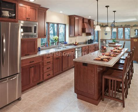 Kitchen Cabinet Furniture Amish Kitchen Cabinets Of Its Simplicity And Classic Excellent Cabinets